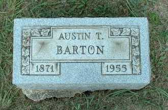 BARTON, AUSTIN T. - Meigs County, Ohio | AUSTIN T. BARTON - Ohio Gravestone Photos