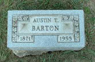 BARTON, AUSTIN T. - Meigs County, Ohio | AUSTIN T. BARTON - Ohio Gravestone Photos