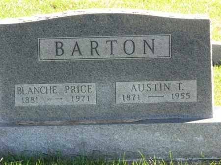 PRICE BARTON, BLANCHE - Meigs County, Ohio | BLANCHE PRICE BARTON - Ohio Gravestone Photos