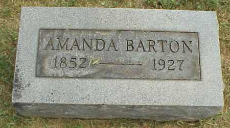 CHURCH BARTON, AMANDA - Meigs County, Ohio | AMANDA CHURCH BARTON - Ohio Gravestone Photos