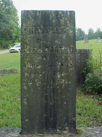 BARTON, FRANCES C. - Meigs County, Ohio   FRANCES C. BARTON - Ohio Gravestone Photos