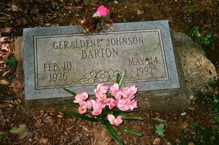 "JOHNSON BARTON, GERALDENE ""GWEN"" - Meigs County, Ohio | GERALDENE ""GWEN"" JOHNSON BARTON - Ohio Gravestone Photos"