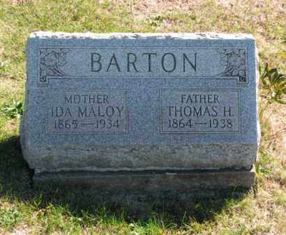 BARTON, IDA - Meigs County, Ohio | IDA BARTON - Ohio Gravestone Photos
