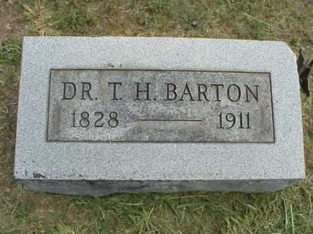 BARTON, THOMAS H. DR. - Meigs County, Ohio | THOMAS H. DR. BARTON - Ohio Gravestone Photos