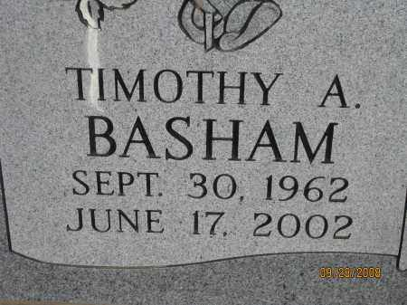 BASHAM, TIMOTHY A. - Meigs County, Ohio | TIMOTHY A. BASHAM - Ohio Gravestone Photos