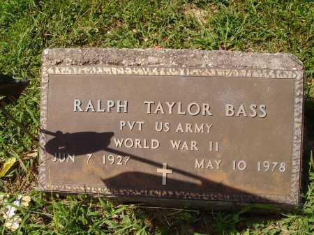 BASS, RALPH TAYLOR - Meigs County, Ohio | RALPH TAYLOR BASS - Ohio Gravestone Photos