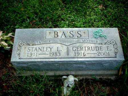 BASS, STANLEY L. - Meigs County, Ohio | STANLEY L. BASS - Ohio Gravestone Photos