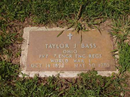 BASS, TAYLOR J. - Meigs County, Ohio | TAYLOR J. BASS - Ohio Gravestone Photos
