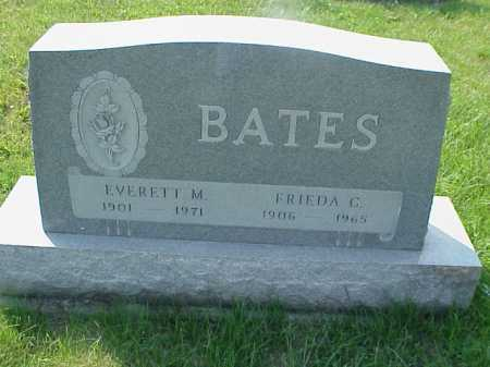 BATES, FRIEDA G. - Meigs County, Ohio | FRIEDA G. BATES - Ohio Gravestone Photos
