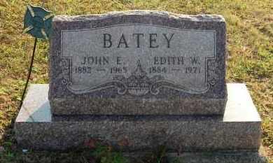 BATEY, EDITH W. - Meigs County, Ohio | EDITH W. BATEY - Ohio Gravestone Photos