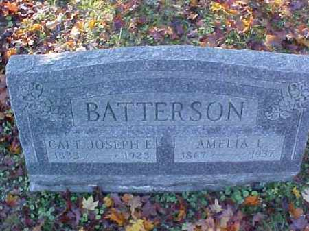 BATTERSON, JOSEPH E., CAPT. - Meigs County, Ohio | JOSEPH E., CAPT. BATTERSON - Ohio Gravestone Photos