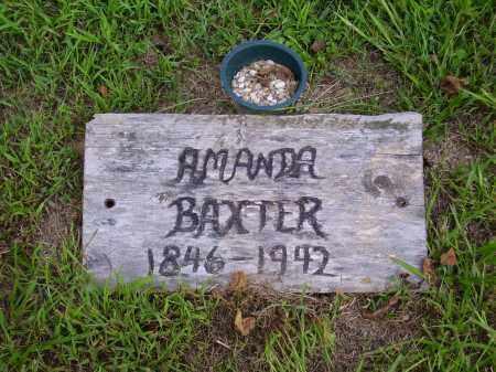 BAXTER, AMANDA - Meigs County, Ohio | AMANDA BAXTER - Ohio Gravestone Photos