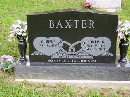 BAXTER, HOMER G. - Meigs County, Ohio | HOMER G. BAXTER - Ohio Gravestone Photos