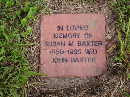 BAXTER, SUSAN M. - Meigs County, Ohio | SUSAN M. BAXTER - Ohio Gravestone Photos