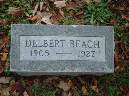 BEACH, DELBERT - Meigs County, Ohio | DELBERT BEACH - Ohio Gravestone Photos
