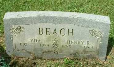 BEACH, HENRY R. - Meigs County, Ohio | HENRY R. BEACH - Ohio Gravestone Photos