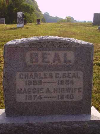 ELLIOTT BEAL, MAGGIE A. - Meigs County, Ohio | MAGGIE A. ELLIOTT BEAL - Ohio Gravestone Photos