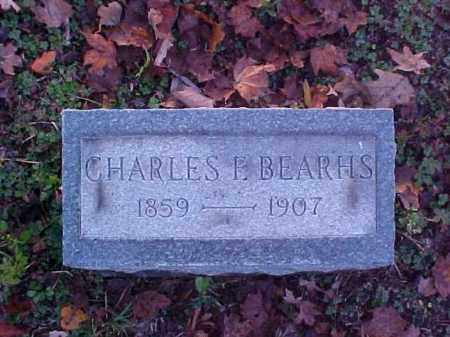 BEARHS, CHARLES E. - Meigs County, Ohio | CHARLES E. BEARHS - Ohio Gravestone Photos