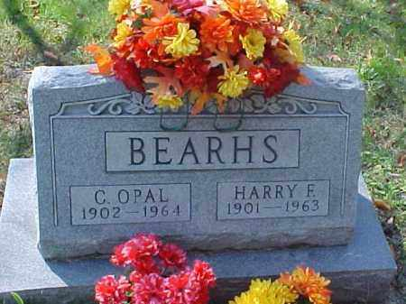 BEARHS, HARRY F. - Meigs County, Ohio | HARRY F. BEARHS - Ohio Gravestone Photos