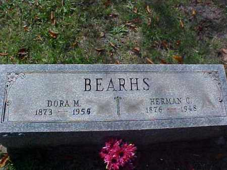 BEARHS, DORA M. - Meigs County, Ohio | DORA M. BEARHS - Ohio Gravestone Photos