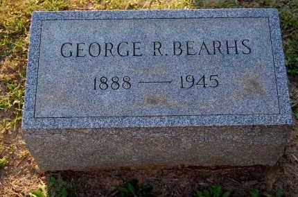 BEARHS, GEORGE R. - Meigs County, Ohio | GEORGE R. BEARHS - Ohio Gravestone Photos