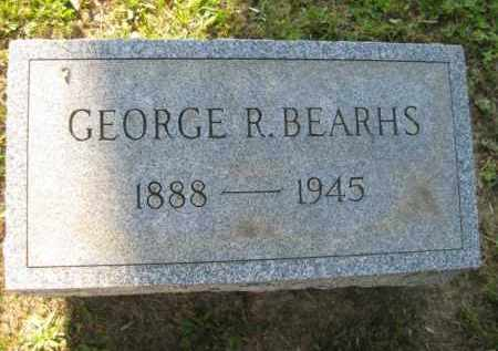 BEARHS, GEORGE R - Meigs County, Ohio | GEORGE R BEARHS - Ohio Gravestone Photos