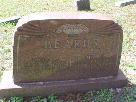 BEARHS, DORA A. - Meigs County, Ohio | DORA A. BEARHS - Ohio Gravestone Photos