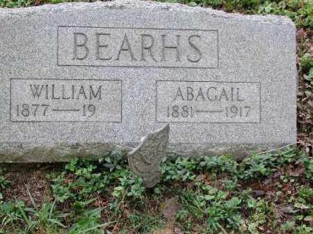 BEARHS, WILLIAM - Meigs County, Ohio | WILLIAM BEARHS - Ohio Gravestone Photos