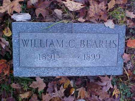 BEARHS, WILLIAM C. - Meigs County, Ohio | WILLIAM C. BEARHS - Ohio Gravestone Photos