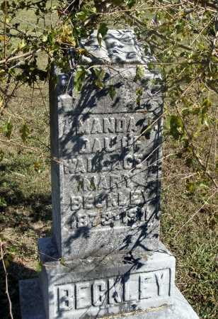 BECKLEY, AMANDA J. - OVERALL VIEW - Meigs County, Ohio   AMANDA J. - OVERALL VIEW BECKLEY - Ohio Gravestone Photos
