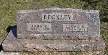 BECKLEY, JOHN EARL - Meigs County, Ohio | JOHN EARL BECKLEY - Ohio Gravestone Photos