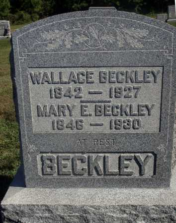 BECKLEY, WALLACE - Meigs County, Ohio | WALLACE BECKLEY - Ohio Gravestone Photos