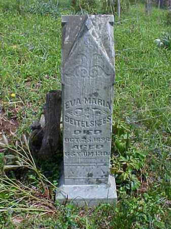 BEITELSHEES, EVA MARIA - Meigs County, Ohio | EVA MARIA BEITELSHEES - Ohio Gravestone Photos