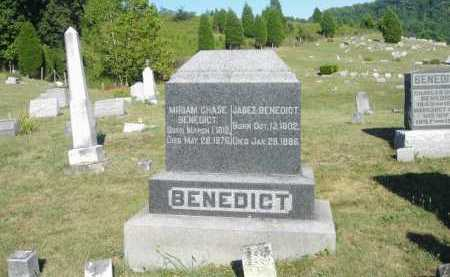 BENEDICT, JABEZ - Meigs County, Ohio | JABEZ BENEDICT - Ohio Gravestone Photos