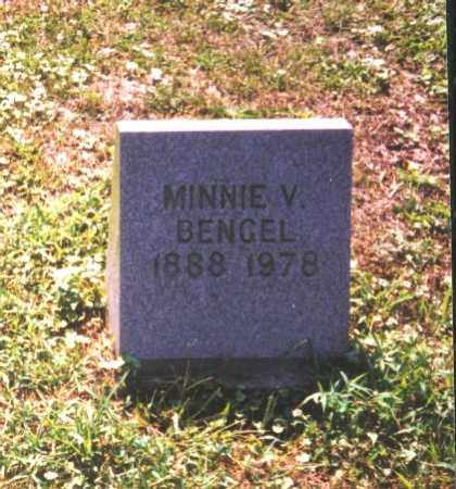BENGEL, MINNIE V. - Meigs County, Ohio | MINNIE V. BENGEL - Ohio Gravestone Photos