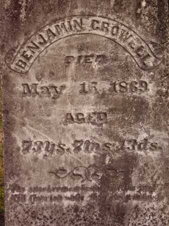 BENJAMIN, CROWELL - Meigs County, Ohio | CROWELL BENJAMIN - Ohio Gravestone Photos