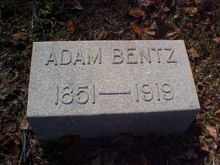 BENTZ, ADAM - Meigs County, Ohio | ADAM BENTZ - Ohio Gravestone Photos