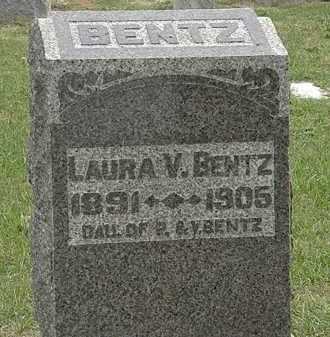 BENTZ, V. - Meigs County, Ohio | V. BENTZ - Ohio Gravestone Photos