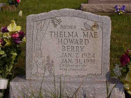 HOWARD BERRY, THELMA MAE - Meigs County, Ohio | THELMA MAE HOWARD BERRY - Ohio Gravestone Photos