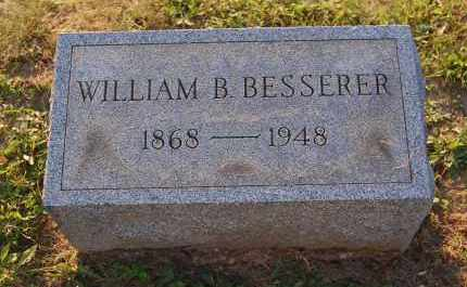 BESSERER, WILLIAM B. - Meigs County, Ohio | WILLIAM B. BESSERER - Ohio Gravestone Photos