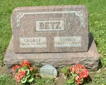 BETZ, GEORGE - Meigs County, Ohio | GEORGE BETZ - Ohio Gravestone Photos
