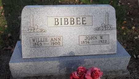 BIBBEE, JOHN W. - Meigs County, Ohio | JOHN W. BIBBEE - Ohio Gravestone Photos