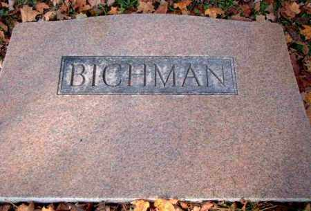 BICHMAN, UNKNOWN - Meigs County, Ohio | UNKNOWN BICHMAN - Ohio Gravestone Photos