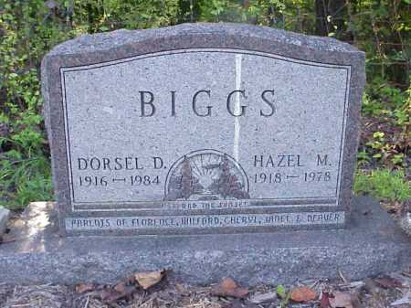 BIGGS, DORSEL D. - Meigs County, Ohio | DORSEL D. BIGGS - Ohio Gravestone Photos