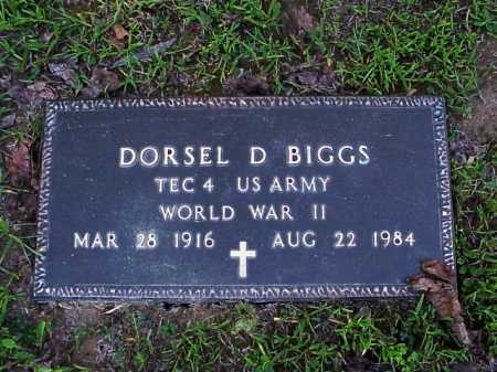 BIGGS, DORSEL - Meigs County, Ohio | DORSEL BIGGS - Ohio Gravestone Photos