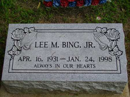 BING, LEE MEREDITH - Meigs County, Ohio | LEE MEREDITH BING - Ohio Gravestone Photos