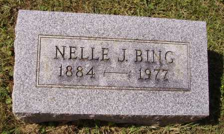 BING, NELLE J. - Meigs County, Ohio | NELLE J. BING - Ohio Gravestone Photos