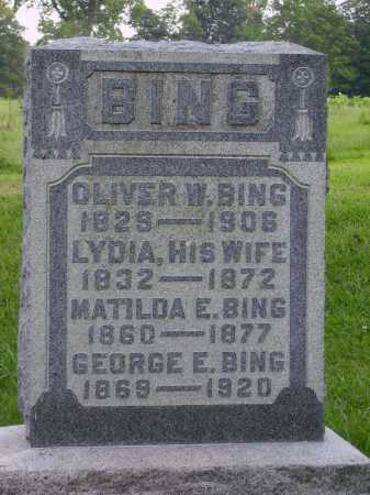 BING, OLIVER W. - Meigs County, Ohio | OLIVER W. BING - Ohio Gravestone Photos