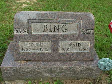 BING, EDITH - Meigs County, Ohio | EDITH BING - Ohio Gravestone Photos