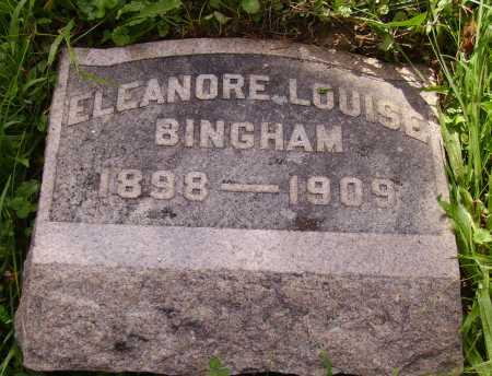 BINGHAM, ELEANORE LOUISE - Meigs County, Ohio | ELEANORE LOUISE BINGHAM - Ohio Gravestone Photos